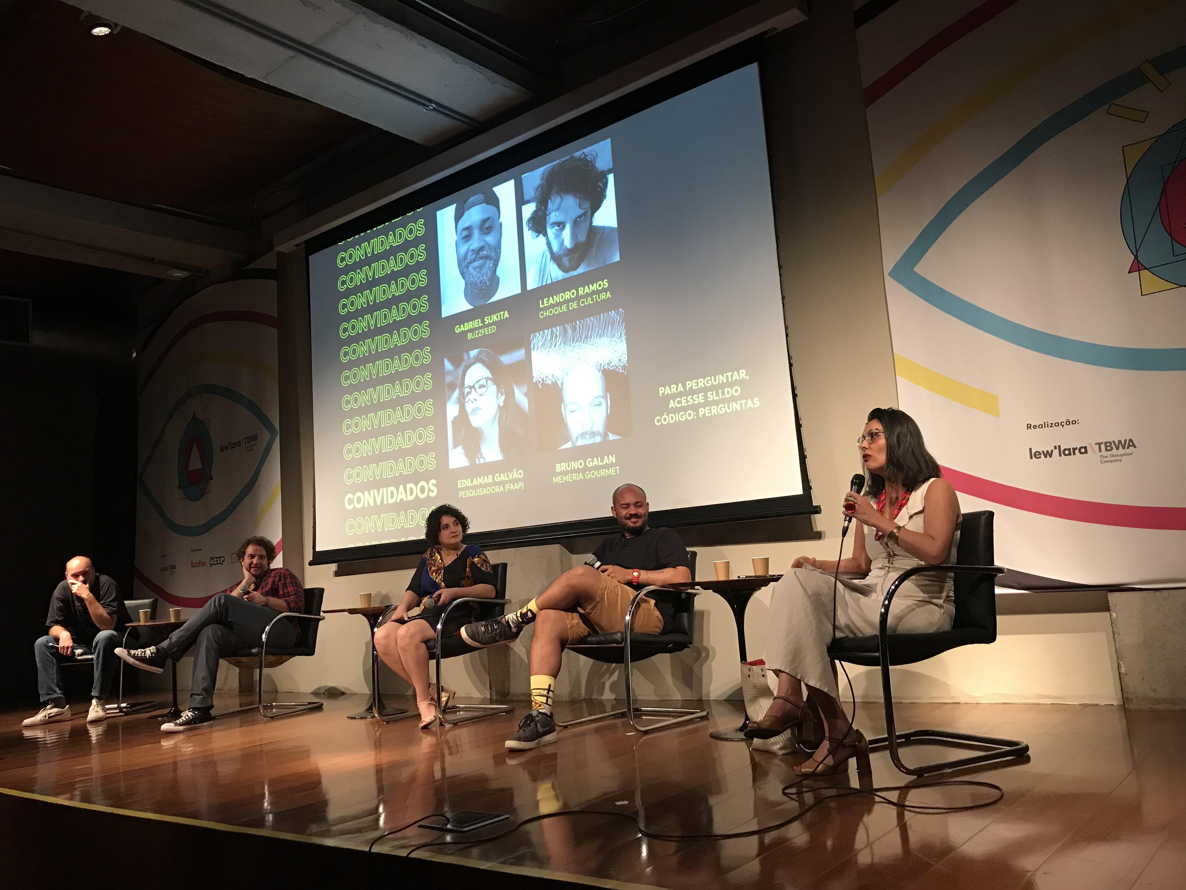#ChamaNaCultura@: gente bacana, talks interessantes e o principal: um mergulho na cultura
