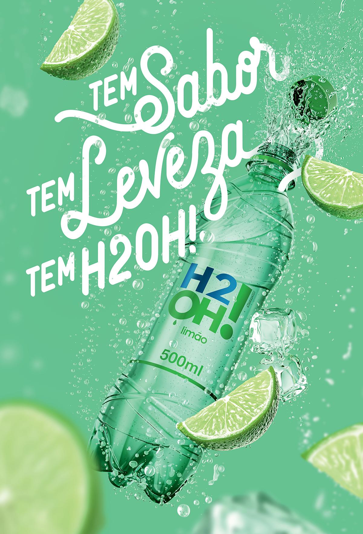 Tá no ar: nova campanha para H2OH!