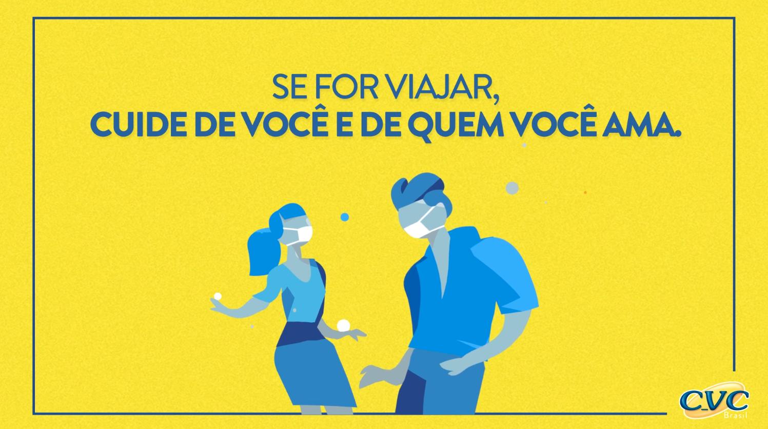 CVC cria campanha que defende um Carnaval mais seguro e reforça seu posicionamento sobre cuidado e assistência