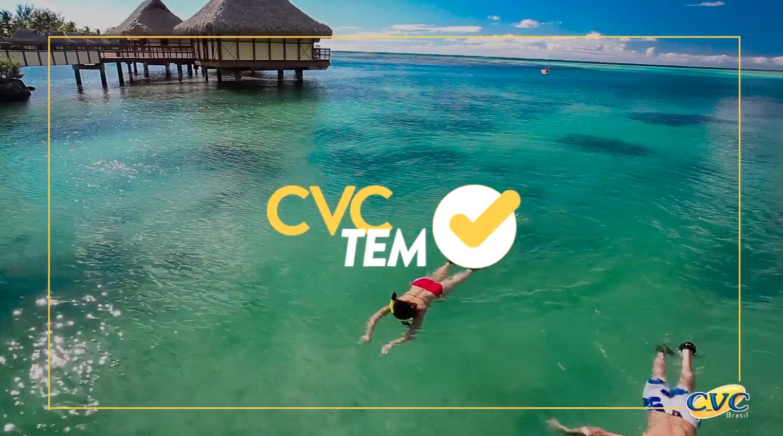 """Campanha """"Pensou? A CVC tem"""" reafirma que a marca tem de tudo para uma viagem sob medida"""