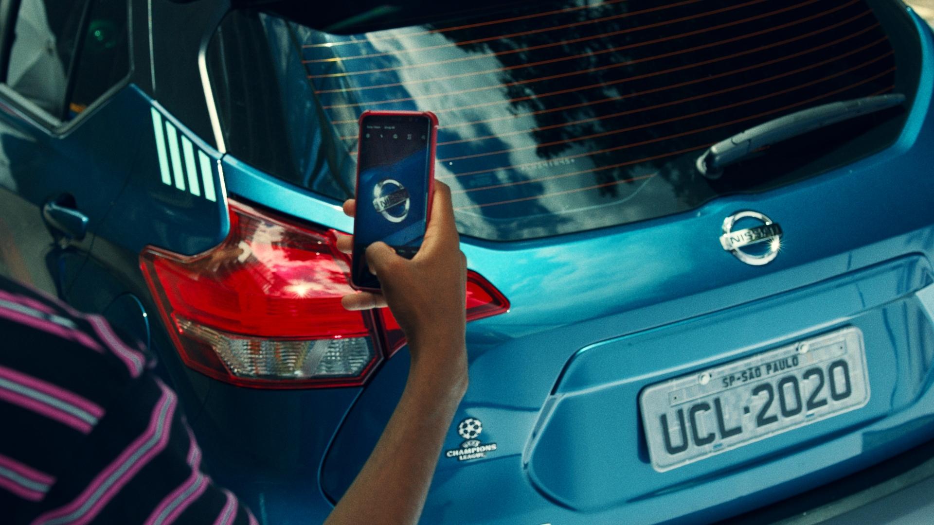 """Nissan escuta consumidores e lança """"Nissan Scan"""" 3.0 para ativar patrocínio à UEFA Champions League"""